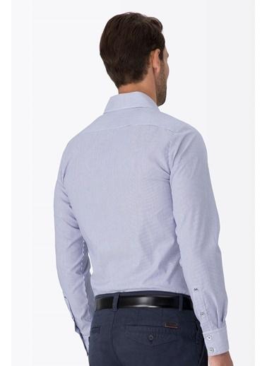 Çizgili Non Iron Business Gömlek-Hemington